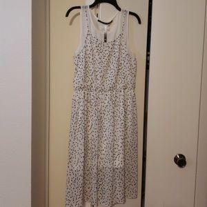 Kensie polka dot dress